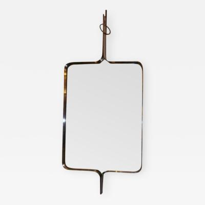 Kappa A Modernist Steel Framed Wall Mirror by Kappa