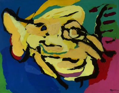 Karel Appel Flying Yellow Head