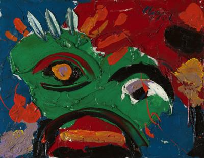 Karel Appel Head