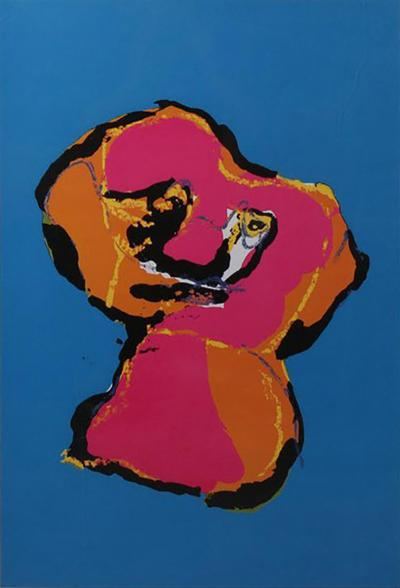 Karel Appel Karel Appel Animal Silk Screen 1970
