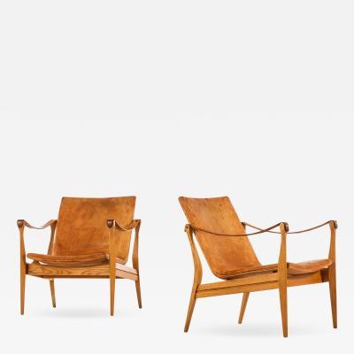 Karen Ebbe Clemmensen Easy Chairs Produced by Ludvig Pontoppidan