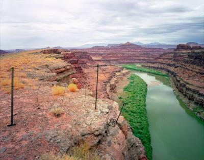 Karen Halverson Shafer Trail Moab Utah 1994