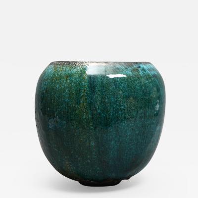 Karen Swami TURQUOISE 18 Ceramic bowl