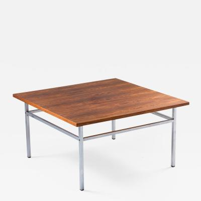 Karl Erik Ekselius Swedish Midcentury Rosewood Coffee Table by Karl Erik Ekselius for JOC