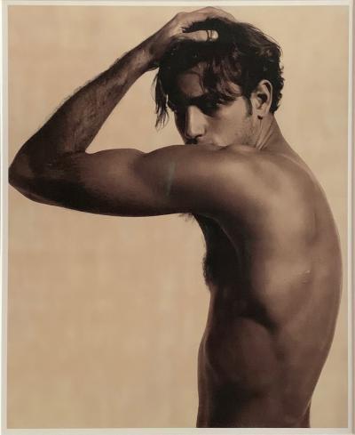 Karl Lagerfeld Karl Lagerfeld Framed Print Andrea Boccaletti 1997