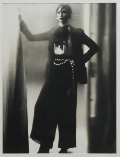 Karl Lagerfeld Original photograph of Vanessa Paradis by Karl Lagerfeld