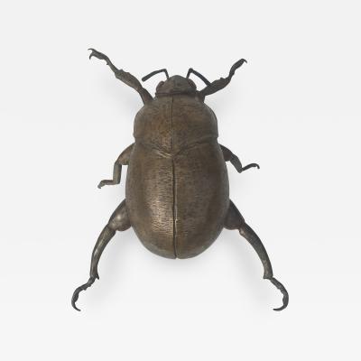 Karl Springer Giant Garding Beetle Sculpture