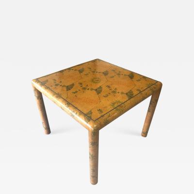 Karl Springer Karl Springer Batik Game Table