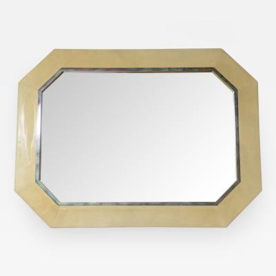 Karl Springer Karl Springer Goatskin Octagonal Mirror USA