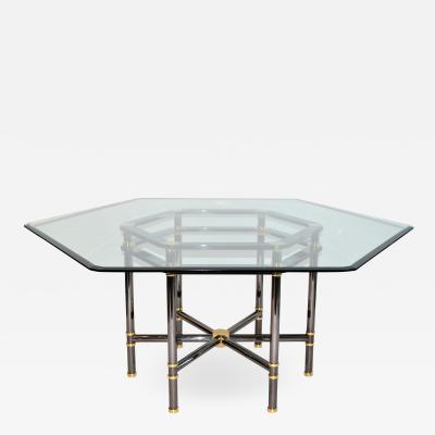 Karl Springer Karl Springer Jansen Style Dining Table