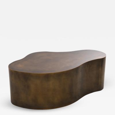 Karl Springer Karl Springer LTD Statuary Bronze Free Form Low Table B USA 2016