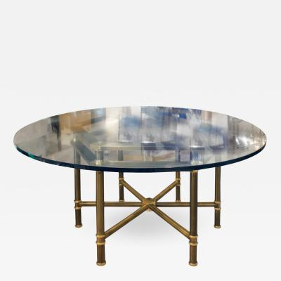 Karl Springer Karl Springer Rare Hexagonal Jansen Style Table 1970s