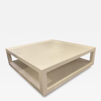 Karl Springer LTD American Modern Tray Top Coffee Table
