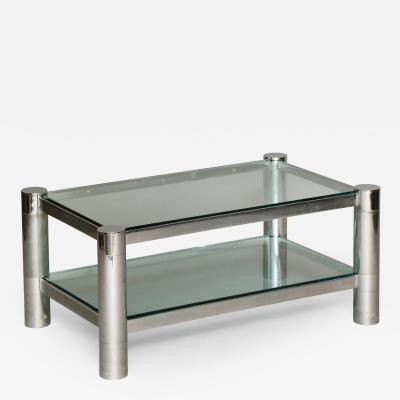 Karl Springer Low Table by Karl Springer