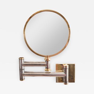 Karl Springer Swing Arm Vanity Mirror by Karl Springer
