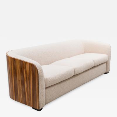 Karl Springer Zebrano Sofa