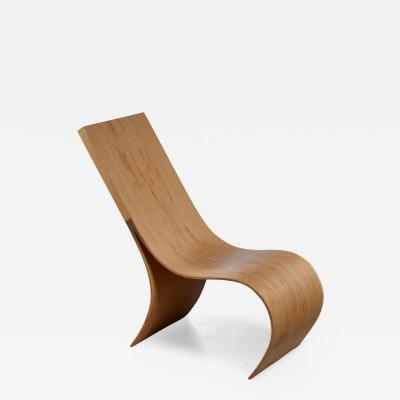 Kaspar Hamacher Kaspar Hamacher oak lounge chair Belgium