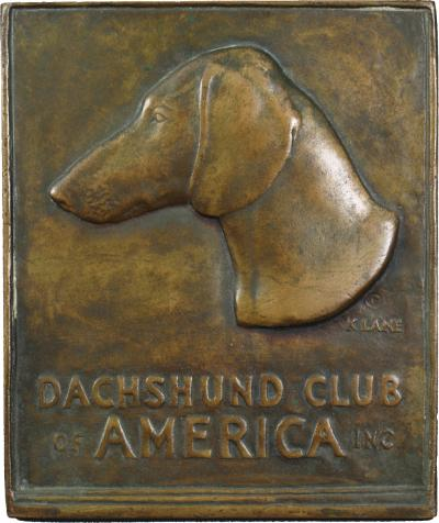 Katherine Lane Weems DACHSHUND CLUB of AMERICA