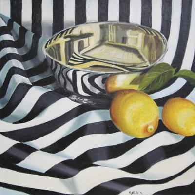 Kathi Blinn Tipsy Stripes