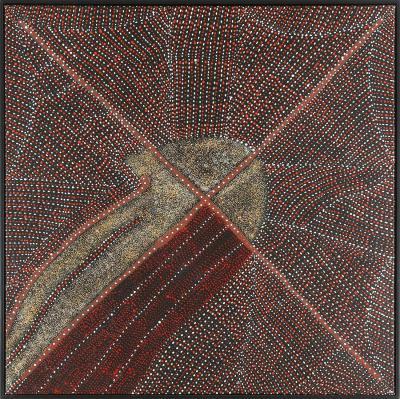 Kathleen Petyarre Australian Aboriginal Painting by Kathleen Petyarre