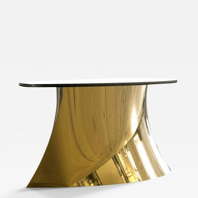 Katz Studio Geometra Table Polished Bronze