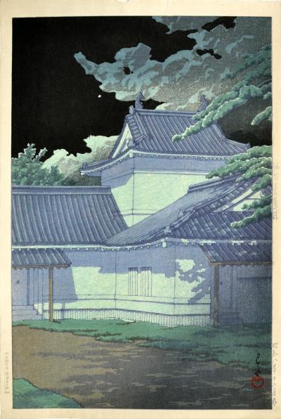 Kawase Hasui Aoba Castle Sendai