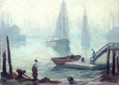 Kay L Kellogg Misty Morning Gloucester
