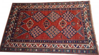 Kazak Ikat Design circa 1900