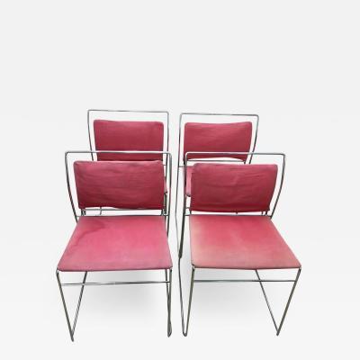 Kazuhide Takahama Set of Four Tulu Chairs by Kazuhide Takahama for Simon Gavina circa 1969