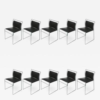 Kazuhide Takahama Set of Ten Tulu Chairs by Kazuhide Takahama for Simon Gavina