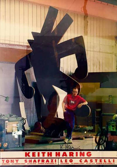 Keith Haring Keith Haring Ivan Dalla Tana Keith Haring or Tony Poster