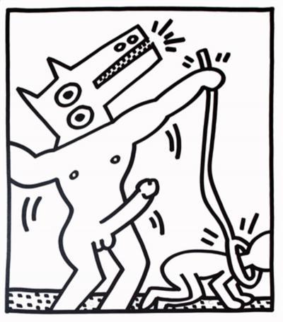 Keith Haring Keith Haring Lithograph
