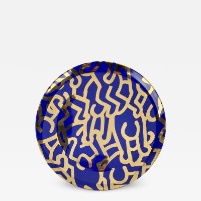 Keith Haring Limited Edition Keith Haring Doubles Plate
