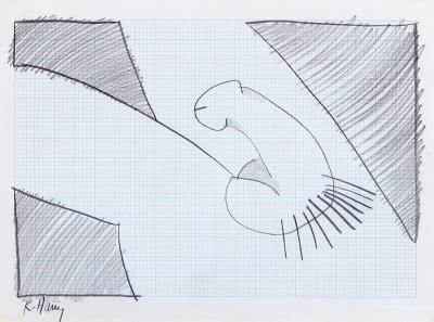 Keith Haring Self Portrait Penis