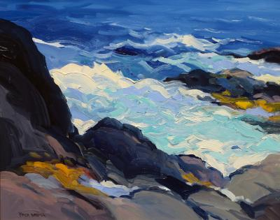 Keith Oehmig High Tide Lobster Cove