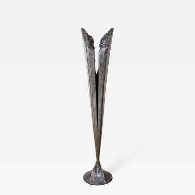 Kelly Kiefer Sculptural Torchier by Kelly Kiefer
