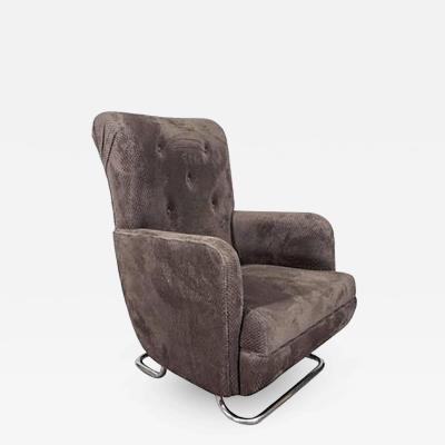 Kem Weber Extraordinary Modernist Kem Weber Lounge Chair