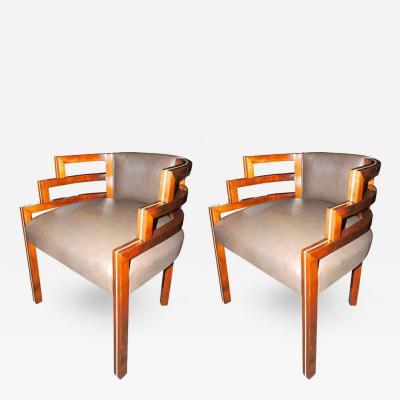 Kem Weber Kem Weber Style Art Deco Chairs