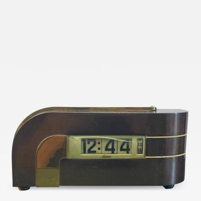 Kem Weber MODERNIST STREAMLINE ART DECO CLOCK ZEPHYR BY KEM WEBER