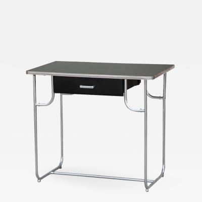 Kem Weber Rare Lloyd Chromium Writing Desk by Kem Weber