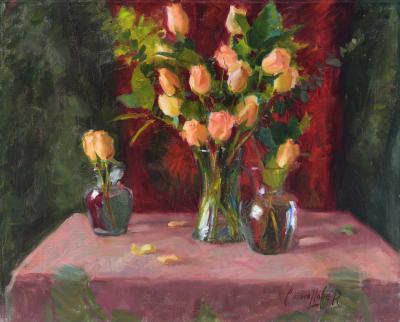 Ken J Cadwallader Blushing Roses