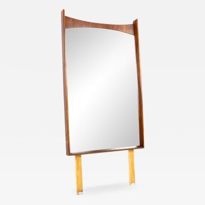 Kent Coffey Kent Coffey Perspecta Mid Century Walnut and Rosewood Mirror