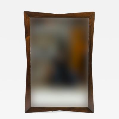 Kent Coffey Kent Coffey Rectangular Walnut Mirror