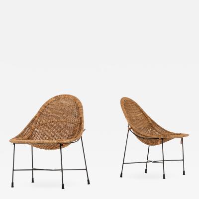 Kerstin H rlin Holmquist Easy Chairs Model Lilla Kraal Produced by Nordiska Kompaniet