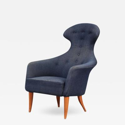 Kerstin H rlin Holmquist Swedish Stora Eva Chair by Kerstin Hoerlin Holmquist