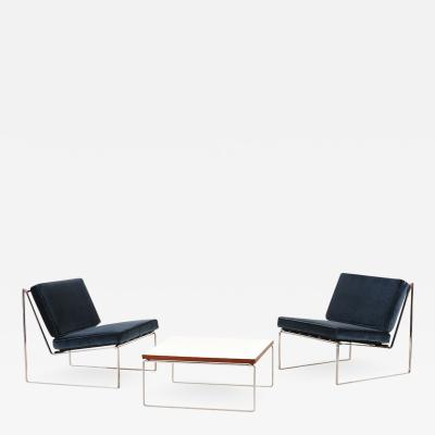 Kho Liang Le Set of 024 Lounge Chairs and 869 Coffee Table by Kho Liang Le for Artifort