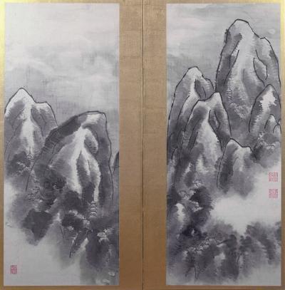 Ki Baitei Temples in Mountains