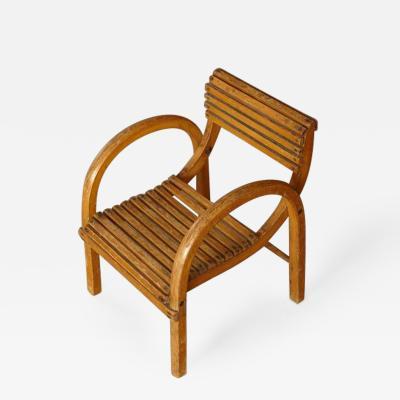 Kibofa Mid Century Modern Dutch Childrens Lounge Chair by Kibofa