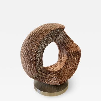 Kim Seung Woo Korean Modern Abstract Coin Sculpture by Kim Seung Woo