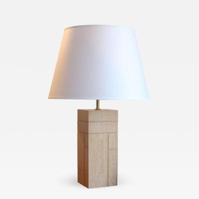 Kimille Taylor Table Lamp in Oak Evans by Kimille Taylor